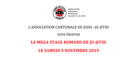 Mega Stage Romand de Ju-Jitsu 2019