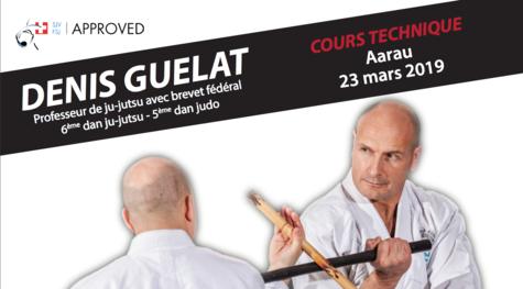 Cours de Ju-Jitsu à Aarau – 23.03.19